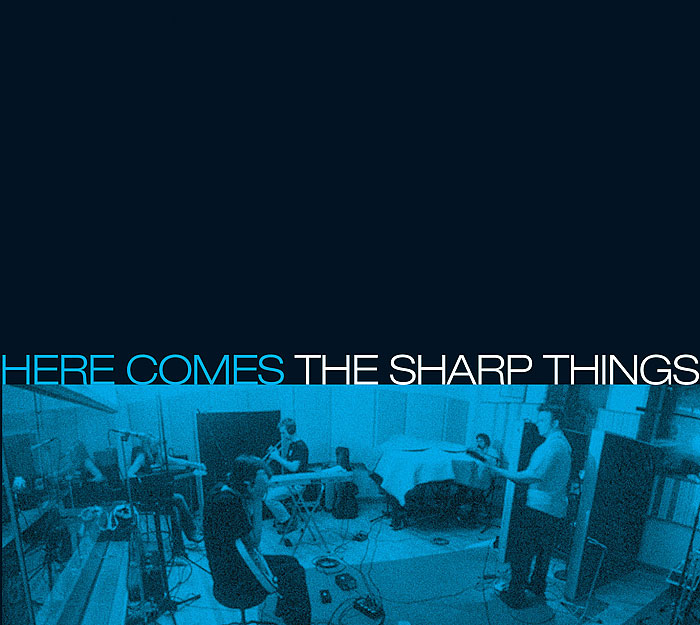 Here Comes The Sharp Things album art