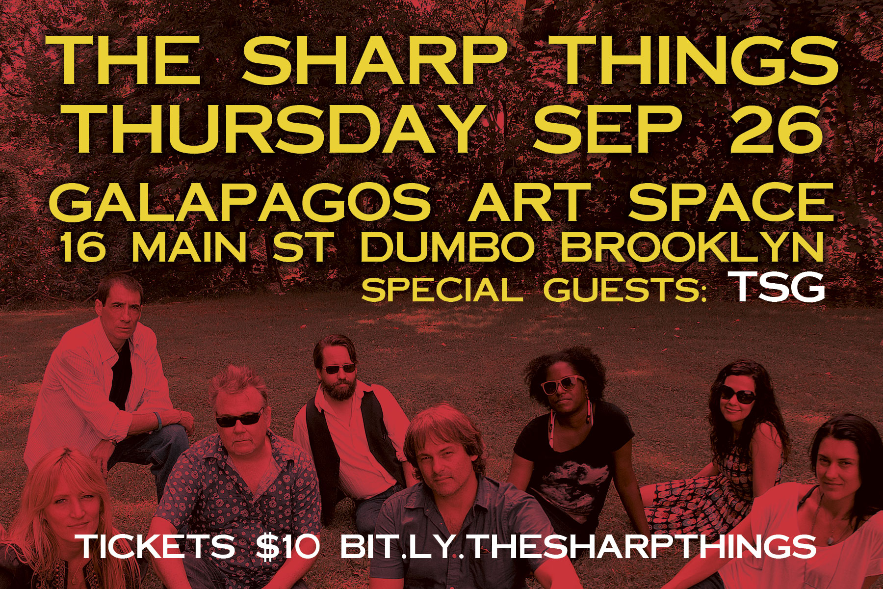 The Sharp Things Concert at Galapagos Art Space
